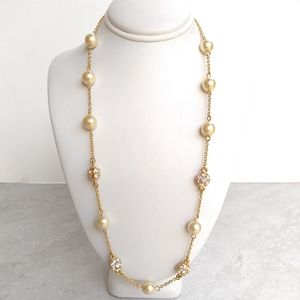 NWOT Nolan Miller gold tone necklace